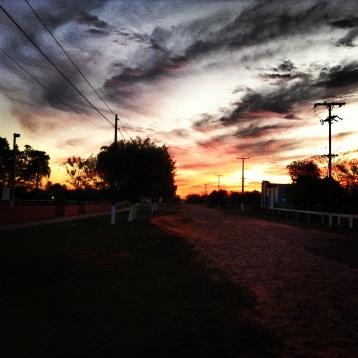 Sunset in San Salvador